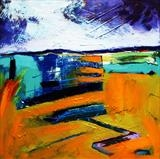 Estuary 5 by Graham Cox, Painting, Acrylic on canvas