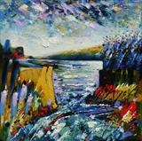 Harbour Entrance by Graham Cox, Painting, Oil on canvas
