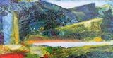 Landscape Study 6 by Graham Cox, Painting, Mixed Media on Canvas