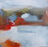 Landscape Study 9 by Graham Cox, Painting, Acrylic on canvas