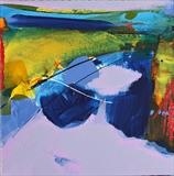 Landscape Study A by Graham Cox, Painting, Acrylic on canvas