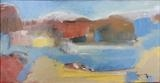 Landscape study 7 by Graham Cox, Painting, Acrylic on canvas