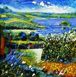 Loch Towt by Graham Cox, Painting, Oil on canvas
