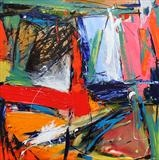Pulse series. Painting 5 by Graham Cox, Painting, Acrylic on canvas