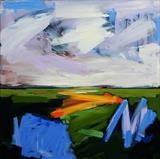 Spring Landscape 1 by Graham Cox, Painting, Acrylic on canvas