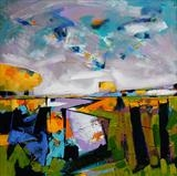 Spring Landscape 4 by Graham Cox, Painting, Acrylic on canvas